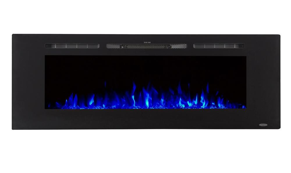 Touchstone Sideline 60 Recessed Electric Fireplace 80011