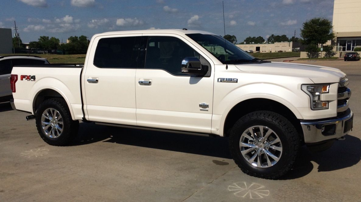 Ford F150 Forums >> My 2 5 Leveled W 35s King Ranch Page 5 Ford F150 Forum