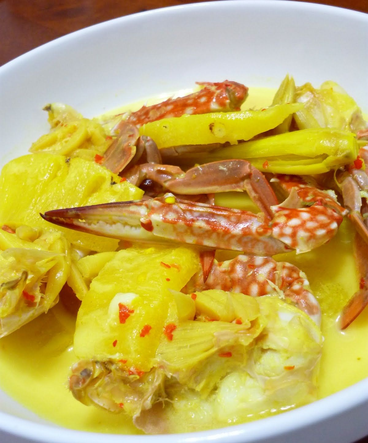 Ketam Masak Lemak Nenas Simple Malaysian Food Recipes Food