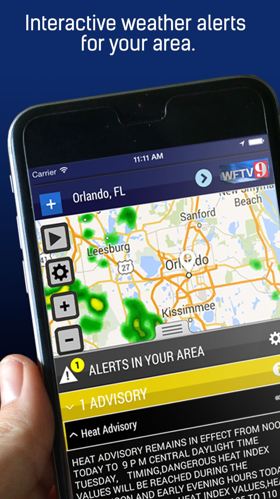 WFTV Channel 9 Weather NewsGroupappsios Weather