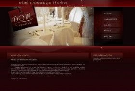 projektowanie stron www: strona internetowa dla Dom Hiszpanski