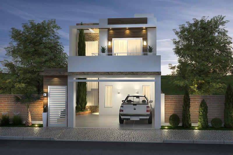 Plano De Casa Con Habitacion De Abajo Planos De Casas Fachadas Casas Minimalistas Casas