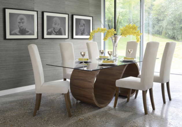 17 Classy Modern Dining Room Tables That Will Attract Your Attention For Sure Modern Dining Room Tables Glass Top Dining Table Contemporary Dining Room Design