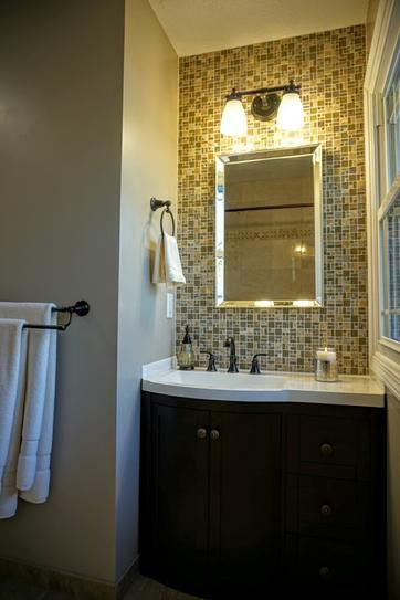 This Our Bathroom Remodel Got Madeline Collection Inch Vanity - Menards bathroom remodel