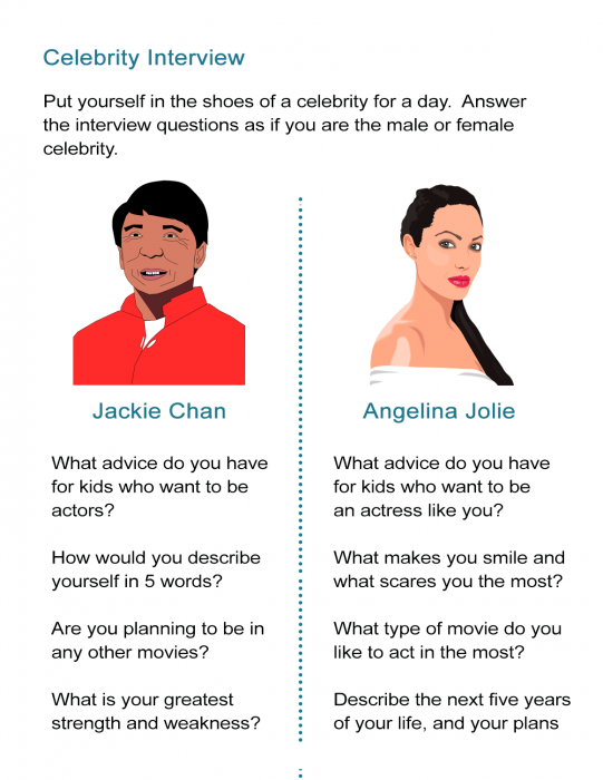 Celebrity Interview Questions And Answers This Or That Questions Celebrity Interview Interview Questions
