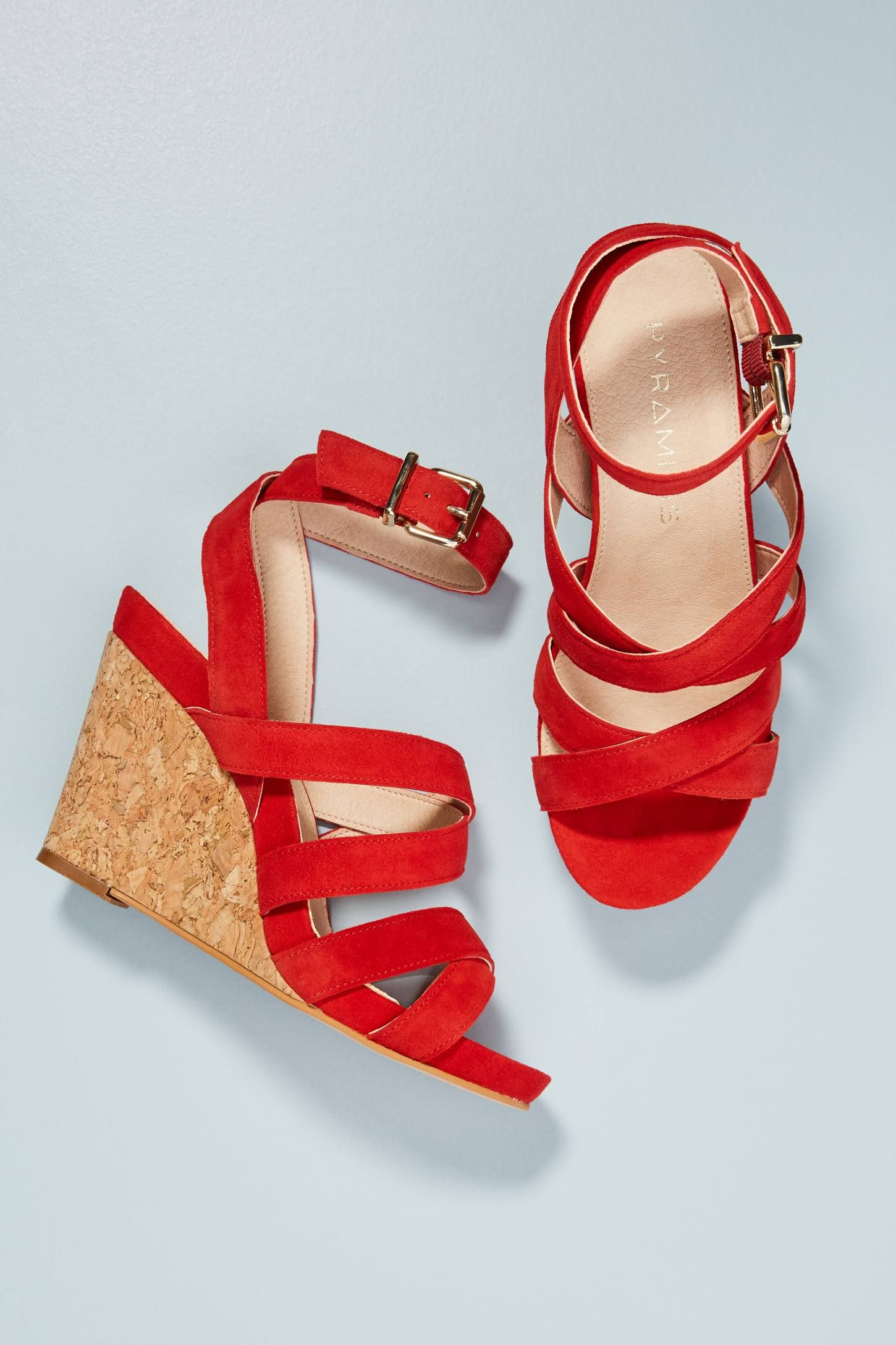Wedge Crossed Strap Shoes Pyramidis SandalsShoesGlorious 8OZNkwn0XP