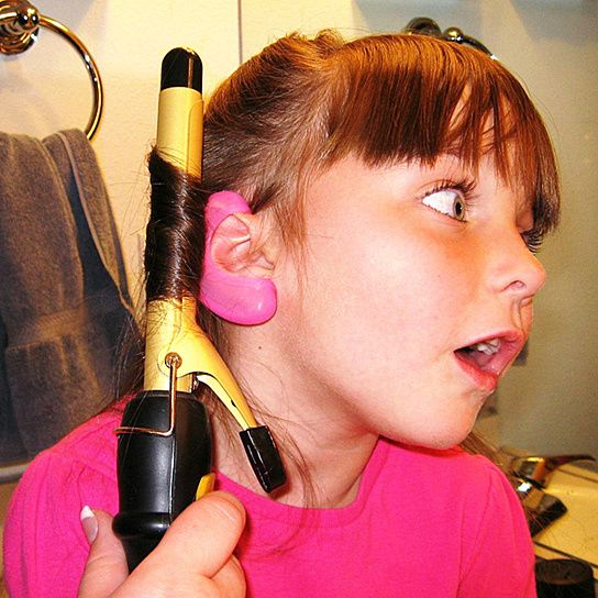 Glamear So I Won T Burn My Ear Off When I M Curling My Hair Beautiful Hair Dyed Hair Natural Hair Styles