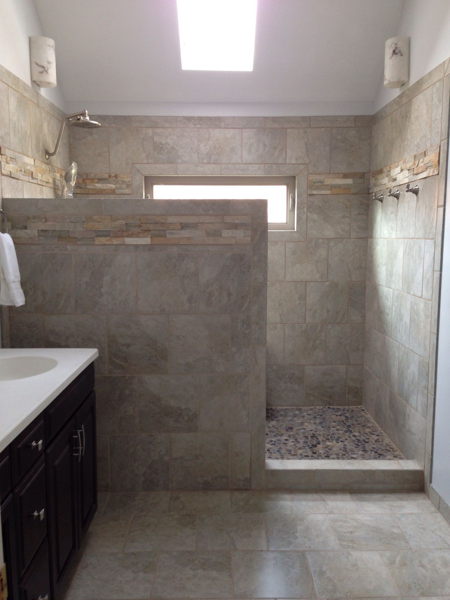 Open Shower Ideas Awesome Doorless Shower Creativity Decor Around The World Shower Remodel Bathroom Remodel Shower Bathrooms Remodel