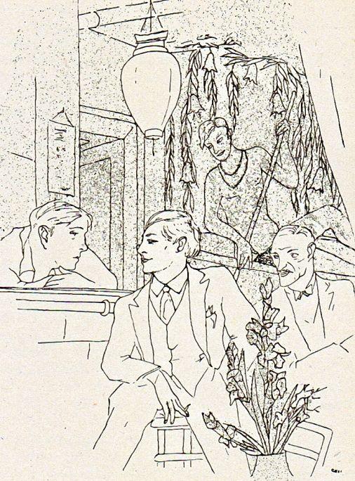 Berlin, Christian Schad, Bar Voo-Doo, bekanntes Schwulenlokal der 20er Jahre