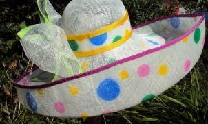 Sinamay Hats | Arnie's Art!