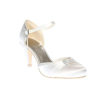Maxine Almond Toe Heeled Shoe Wide Fit Bridal Shoes Wedding Bhs Now