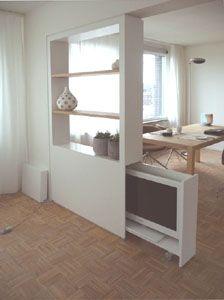 foto tv-kast / scheidingswand - interieurideeën | pinterest, Deco ideeën