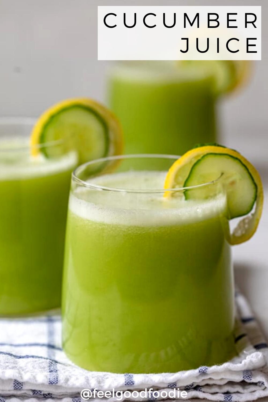 Cucumber Juice Recipe Cucumber Juice Healthy Juices Food Recipes