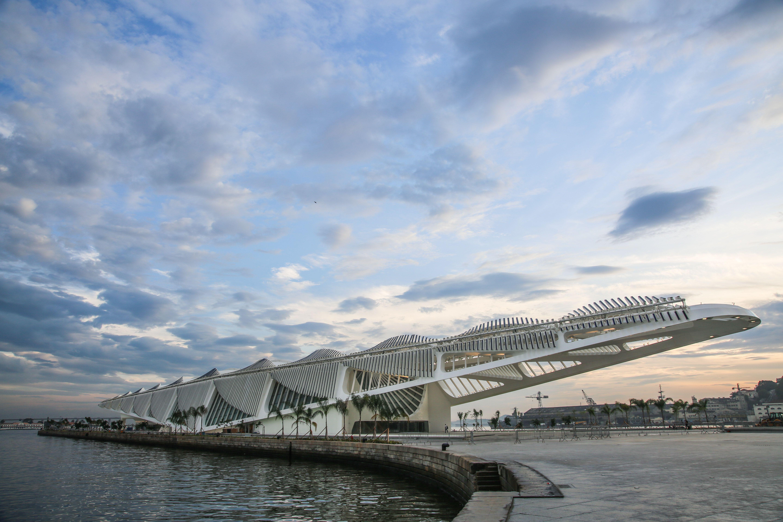 Santiago Calatrava's Museum of Tomorrow Opens in Rio de Janeiro Photos | Architectural Digest