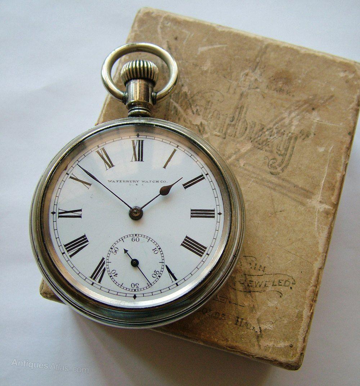 Waterbury Watch Co Pocket Watch With Original Box | Pocket