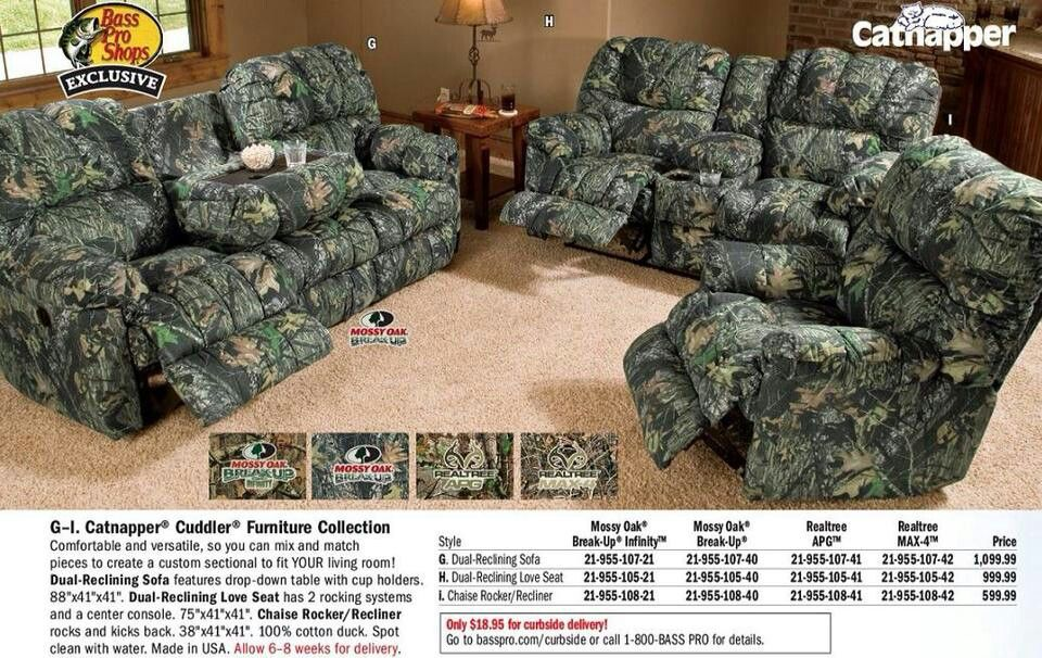 Best Redneck Furniture Camo Furniture Custom Sectional 400 x 300