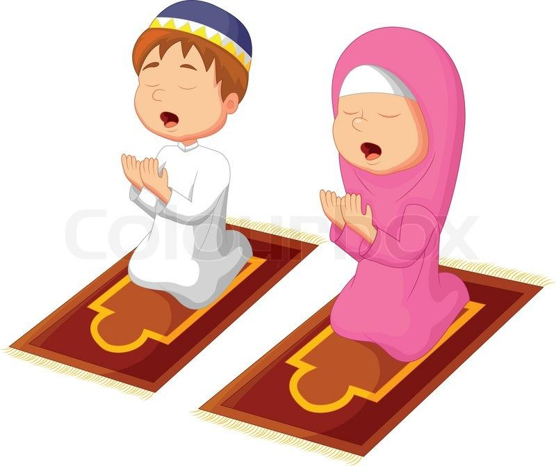 Muslim Child Vector Carian Google Muslim Kids Islamic Cartoon