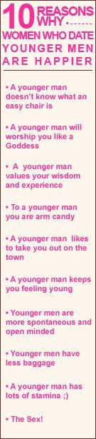 tips on dating younger guys