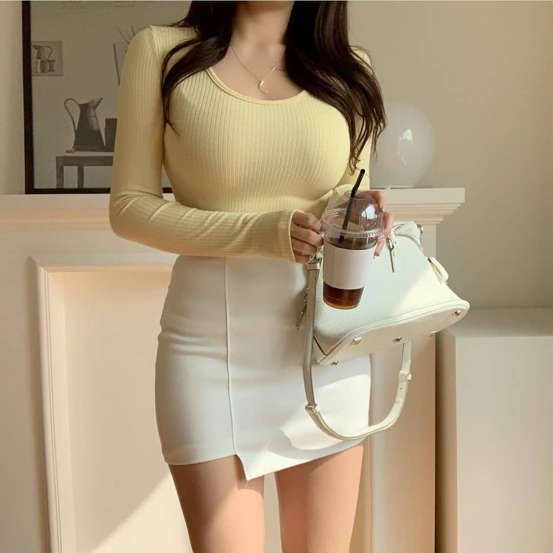 Girly soft outfits inspire style winter 8 gentle korean