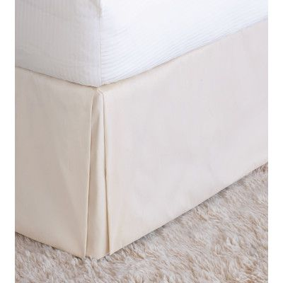 Eastern Accents Halo Edris Bed Skirt Size: California King