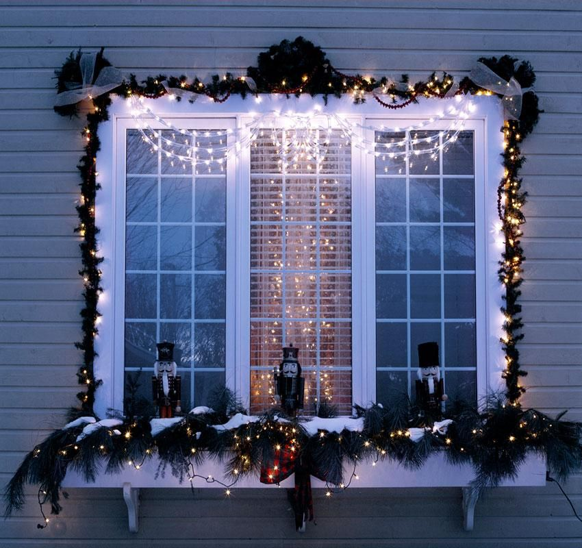 Window Box Christmas Decorating Ideas - Home Intuitive