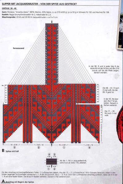 некоторые схемы для джурабов Jorabs Design джурабы вязание
