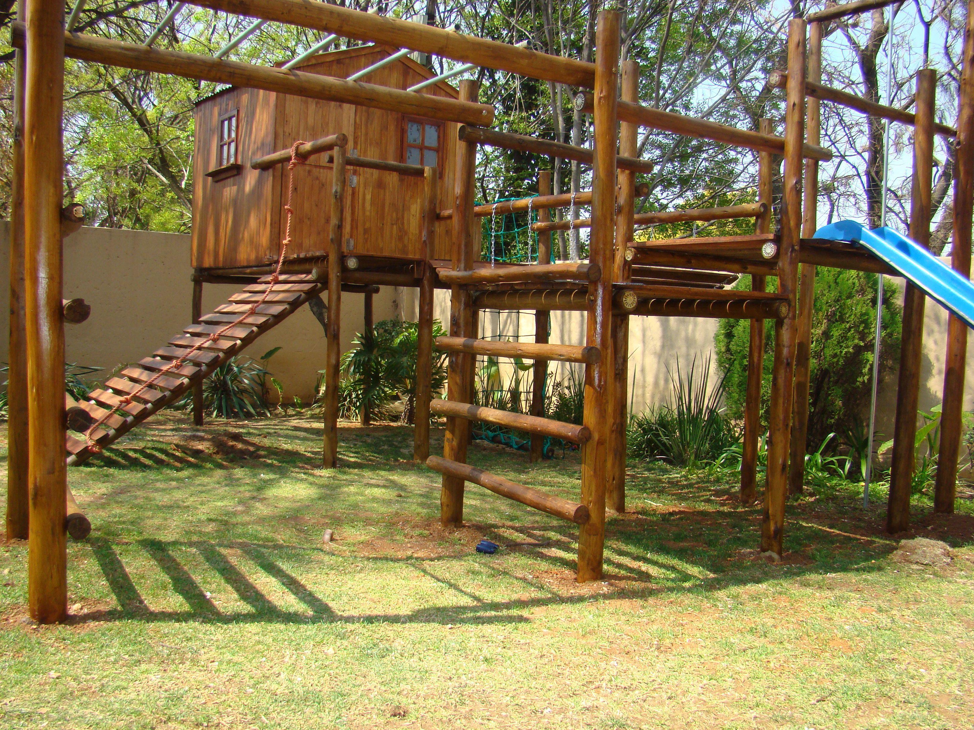 Jungle Gym Backyard - Frontyard.outdoorhouseplan.com in 17