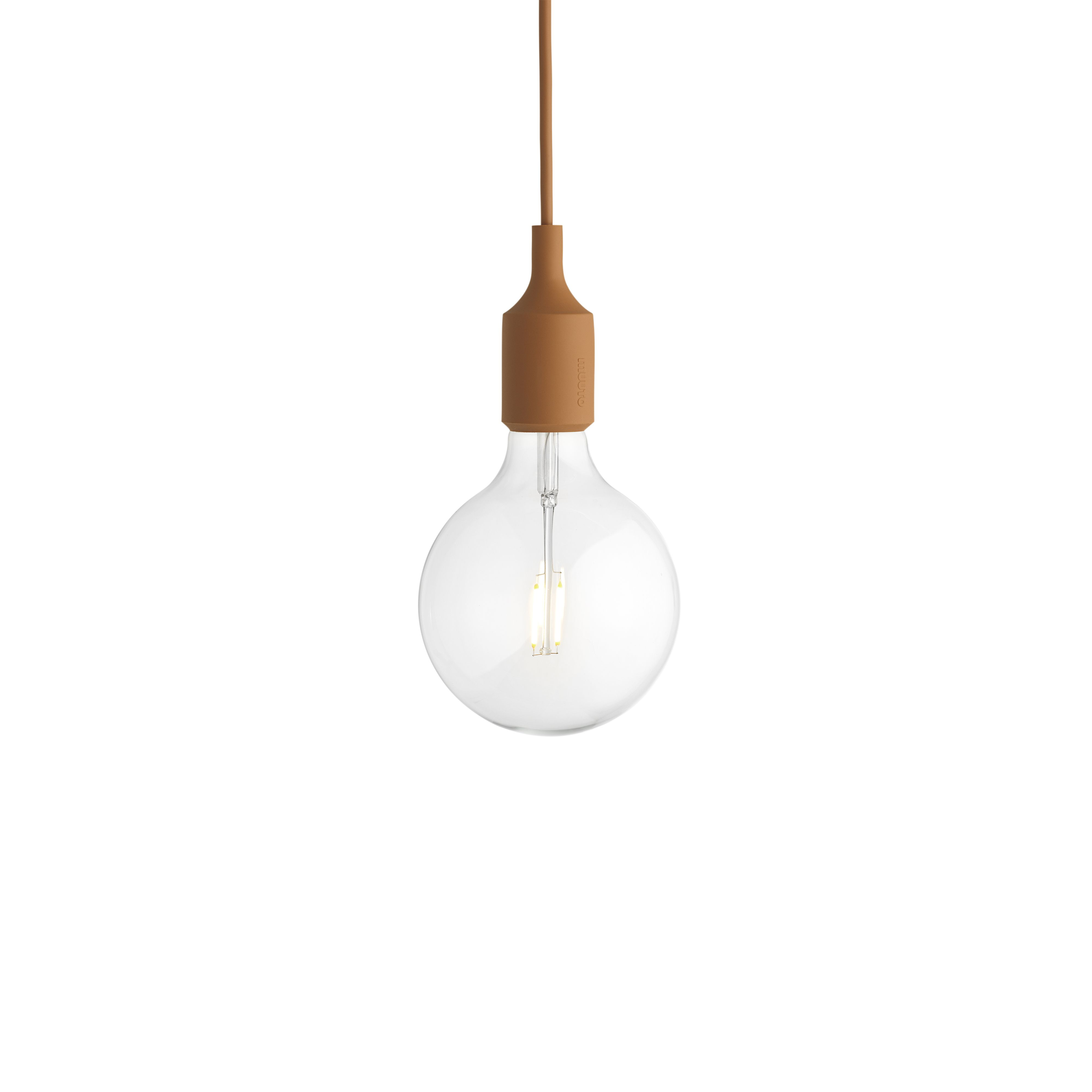 E27 Pendant Lamp In Clay Brown Designed By Mattias Stahlbom For Muuto Muuto Newperspectives Scand Hanging Pendant Lamp Pendant Lamp Ceiling Pendant Lights