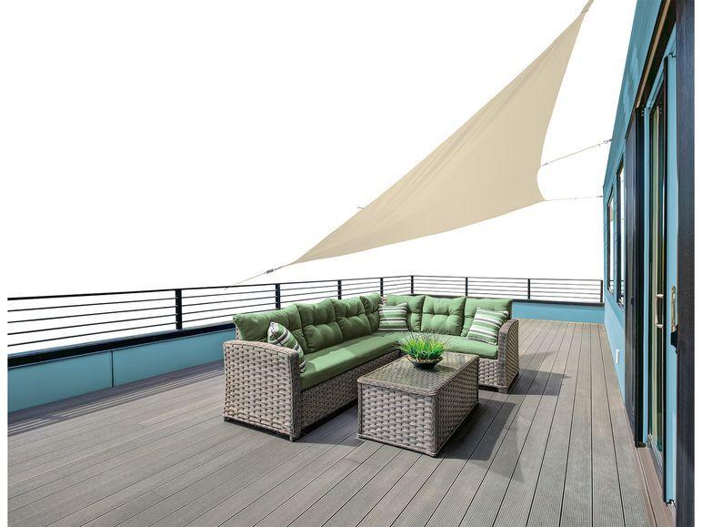FLORABEST Sonnensegel Lidl.de Shade sail, Patio awning