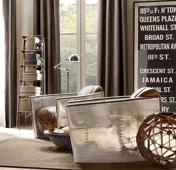 Top 10 Living Room Furniture Brands Restoration Hardware Furniture Vintage Industrial Decor Aviation Furniture