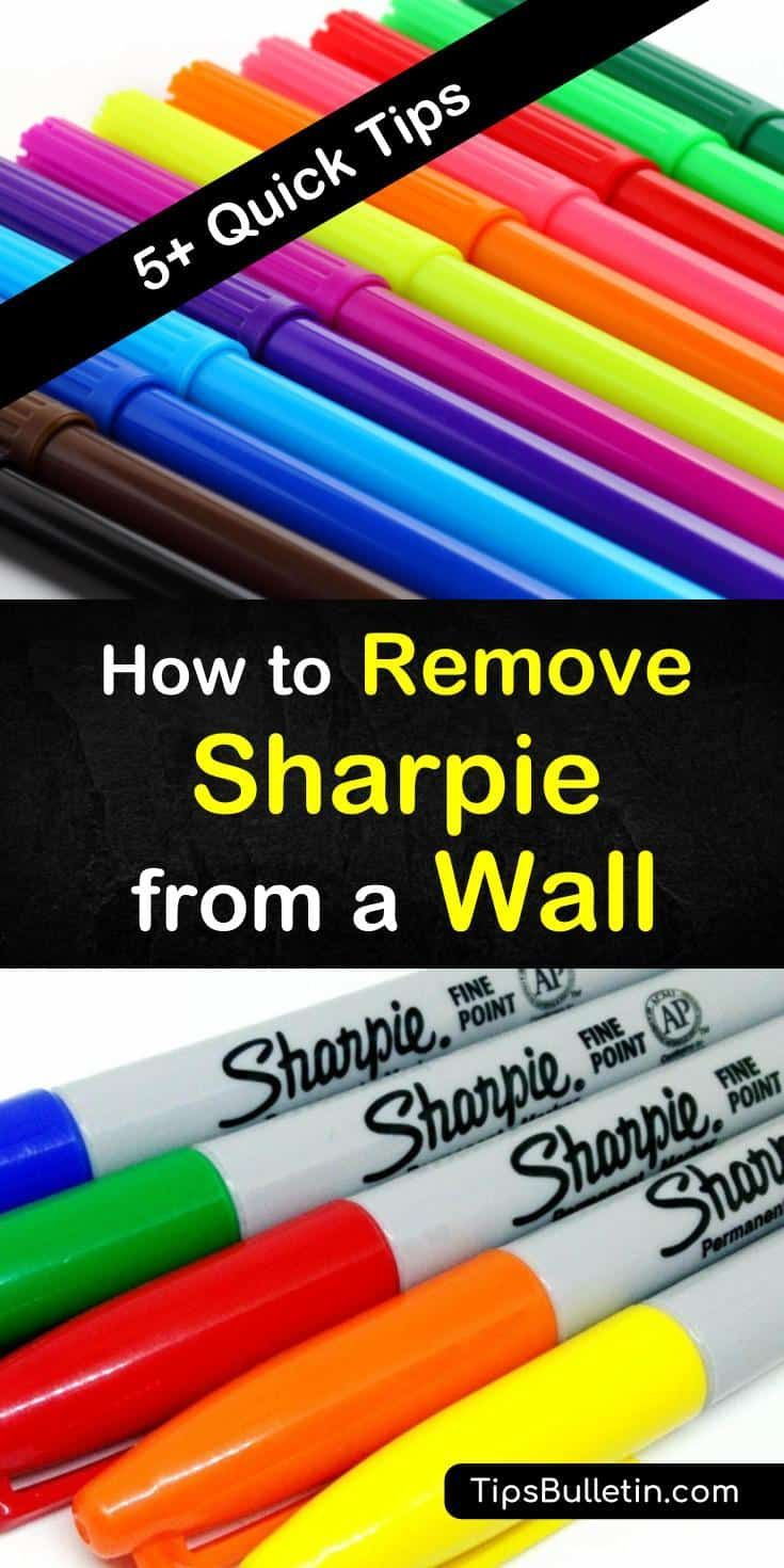 5 quick ways to remove sharpie from a wall how to