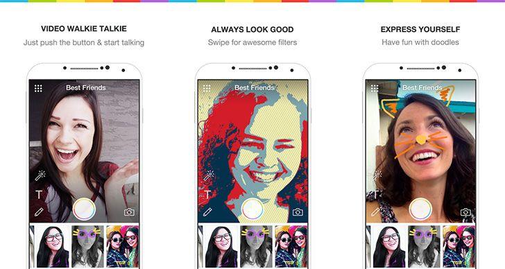 Marco Polo Video Walkie Talkie App Beat friends, App