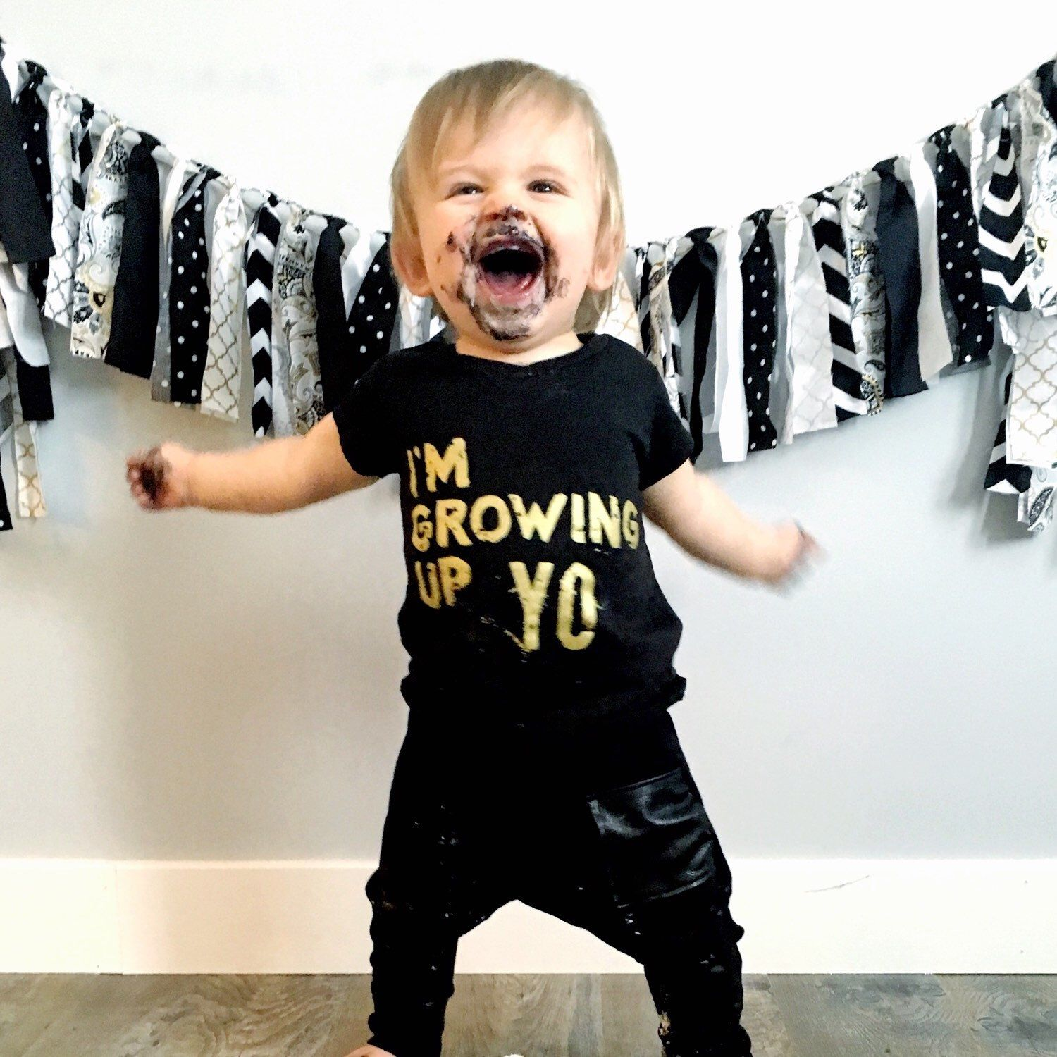 1st Birthday Outfit Kids Birthday Shirt Hipster Baby Clothes