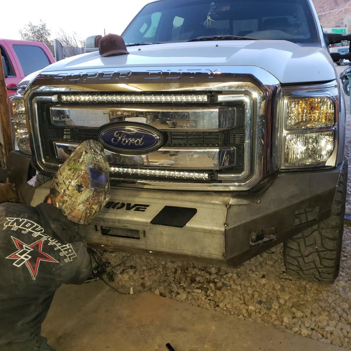 Customizable wiy front standard ford f250f350 20112016