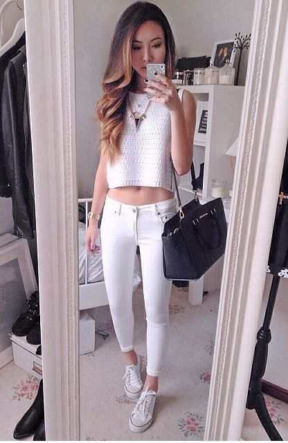 7bf861bb32e very cute summer spring outfit love this OOTD .. A new breakthrough 15  minute Workout App to guide you with Day-by-Day diets and fitness workou…