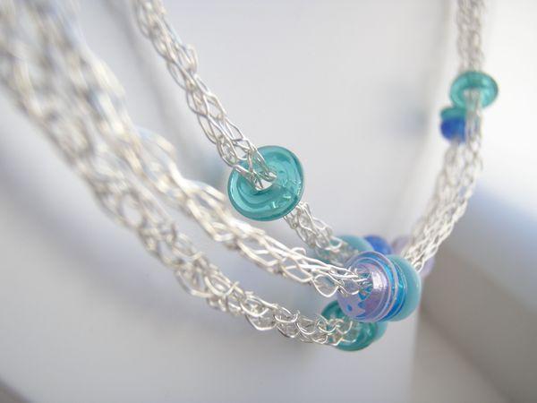 20 Free Wire Crochet Jewelry Patterns | Wire crochet, Crochet ...