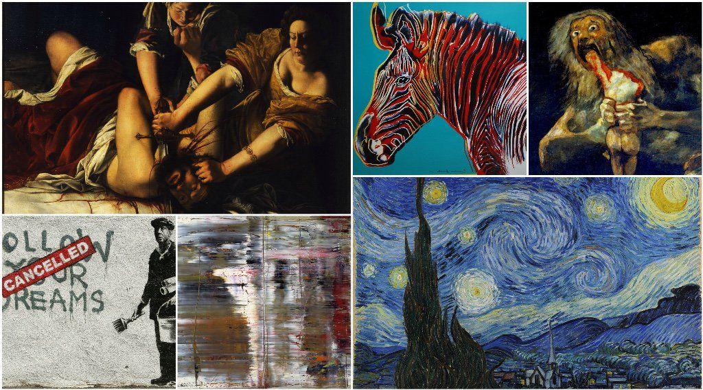 Parecería sencillo escoger 101 pintores pero entre Dalí, Pollock, Caravaggio o Goya es difícil escoger el orden y la importancia.