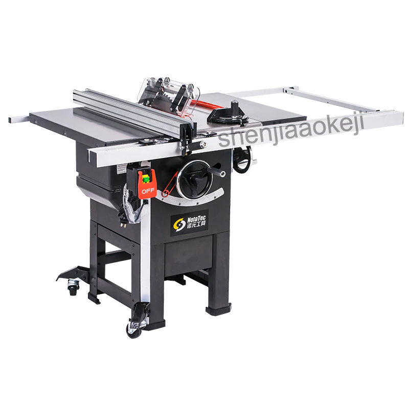 Sawing Machine Professional Grade 10 Inch Vertical Woodworking Table Saw Joiner Table Saw With Mover 10 Woodworking Table Saw Sawing Machine Woodworking Table
