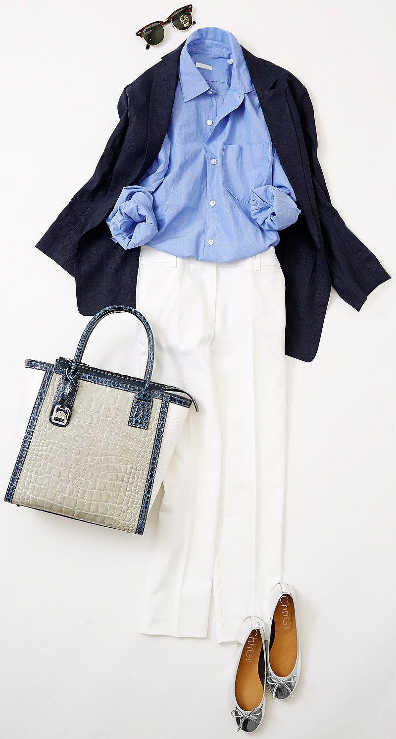 今週のレッスン:フラットシューズを履く日のコーデ(ルミネ新宿)   LUMINE MAGAZINE