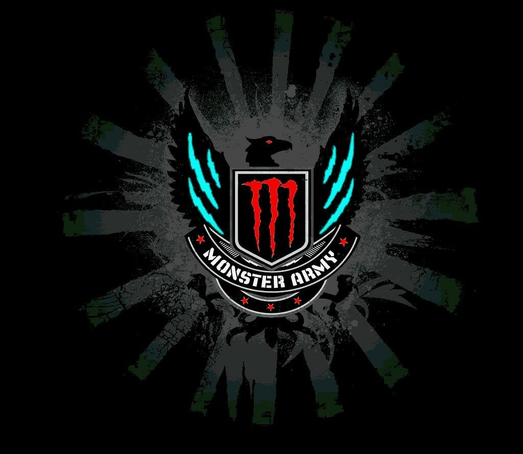 Pin By Jamie Jones On Monster Energy Fox Racing Monster Energy Army Wallpaper Monster Energy Drink Logo