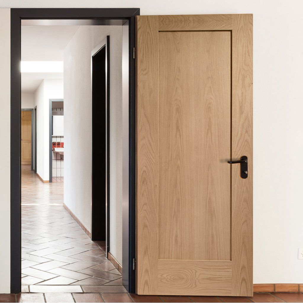 Bespoke Pattern 10 Oak 1 Panel Door Doors Interior Wood Doors Interior Oak Interior Doors