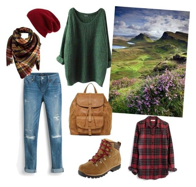 """Trip to Scotland"" by julie-lg on Polyvore featuring White House Black Market, Madewell, Halogen, L.L.Bean, Peach Couture and Sole Society"