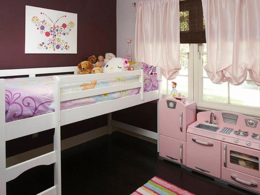 Loft bed ideas girls  Kidsu interactive bedroom ideas that are simply uoff the wall