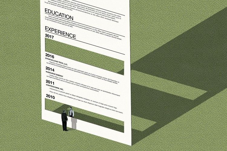 You Can a Long Gap in Your Résumé — The Wall