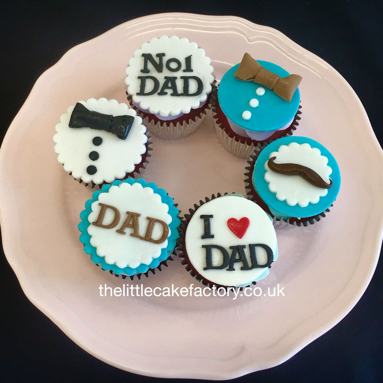 Marvelous Fathers Day Cupcakes Fathers Day Cupcakes Fathers Day Cake Dad Personalised Birthday Cards Paralily Jamesorg