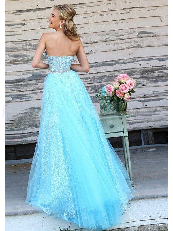 Deutschland blau abendkleider lang Abendkleid Blau