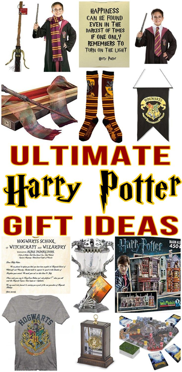 Top Harry Potter Gifts Best Harry Potter Gift Ideas For Boys For Girls And Adults Harry Potter Gifts Harry Potter Gifts Diy Harry Potter Birthday Invitations