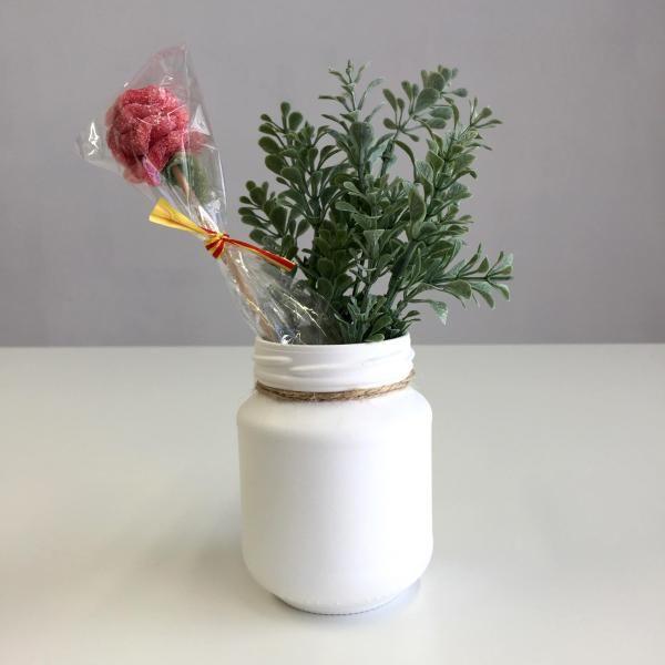 Cmo hacer un jarrn con un bote de cristal con fotos DIY