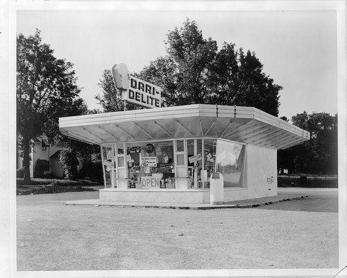 Dari Delite Ice Cream Store Topeka Kansas Topeka Kansas Architecture