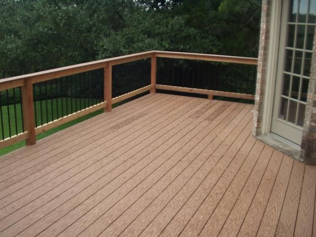 Wood Composite Decking And Railings Dad S Remodel